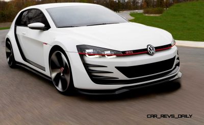 Design Vision Volkswagen GTI Concept - CarRevsDaily