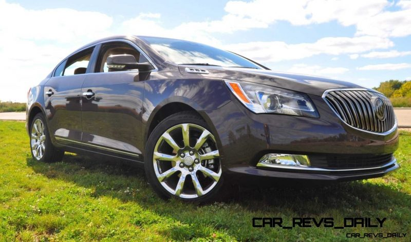 Driven Car Review - 2014 Buick LaCrosse Is Huge, Smooth and Silent12