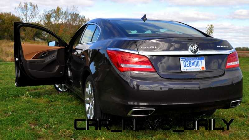Driven Car Review - 2014 Buick LaCrosse Is Huge, Smooth and Silent1