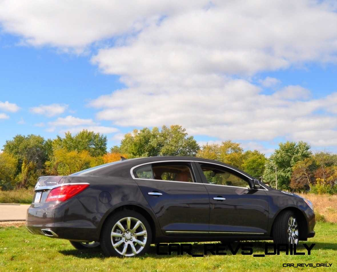 Driven Car Review - 2014 Buick LaCrosse Is Huge, Smooth and Silent14