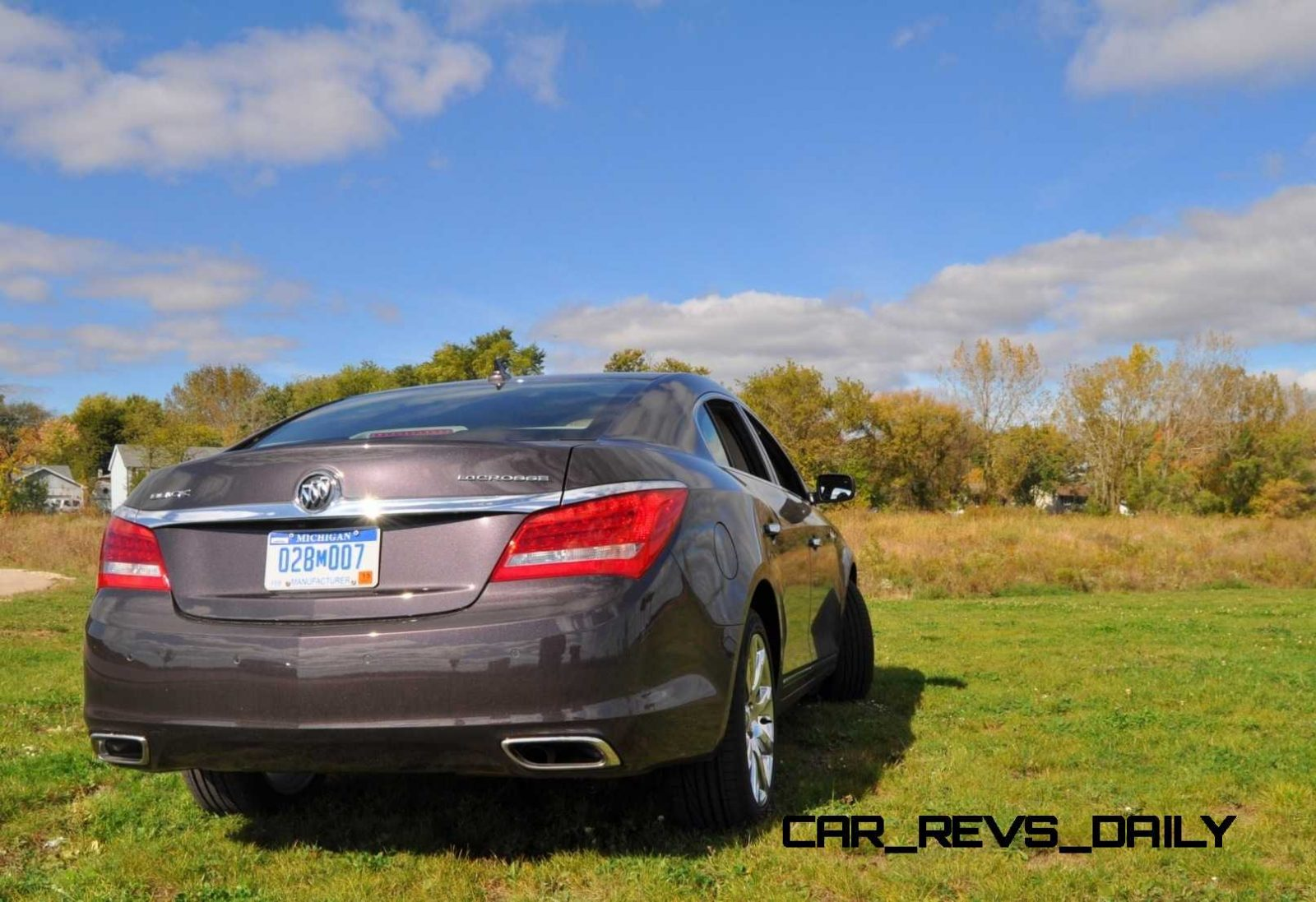 Driven Car Review - 2014 Buick LaCrosse Is Huge, Smooth and Silent15