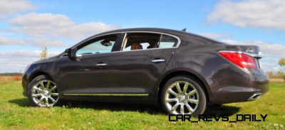 Driven Car Review - 2014 Buick LaCrosse Is Huge, Smooth and Silent17