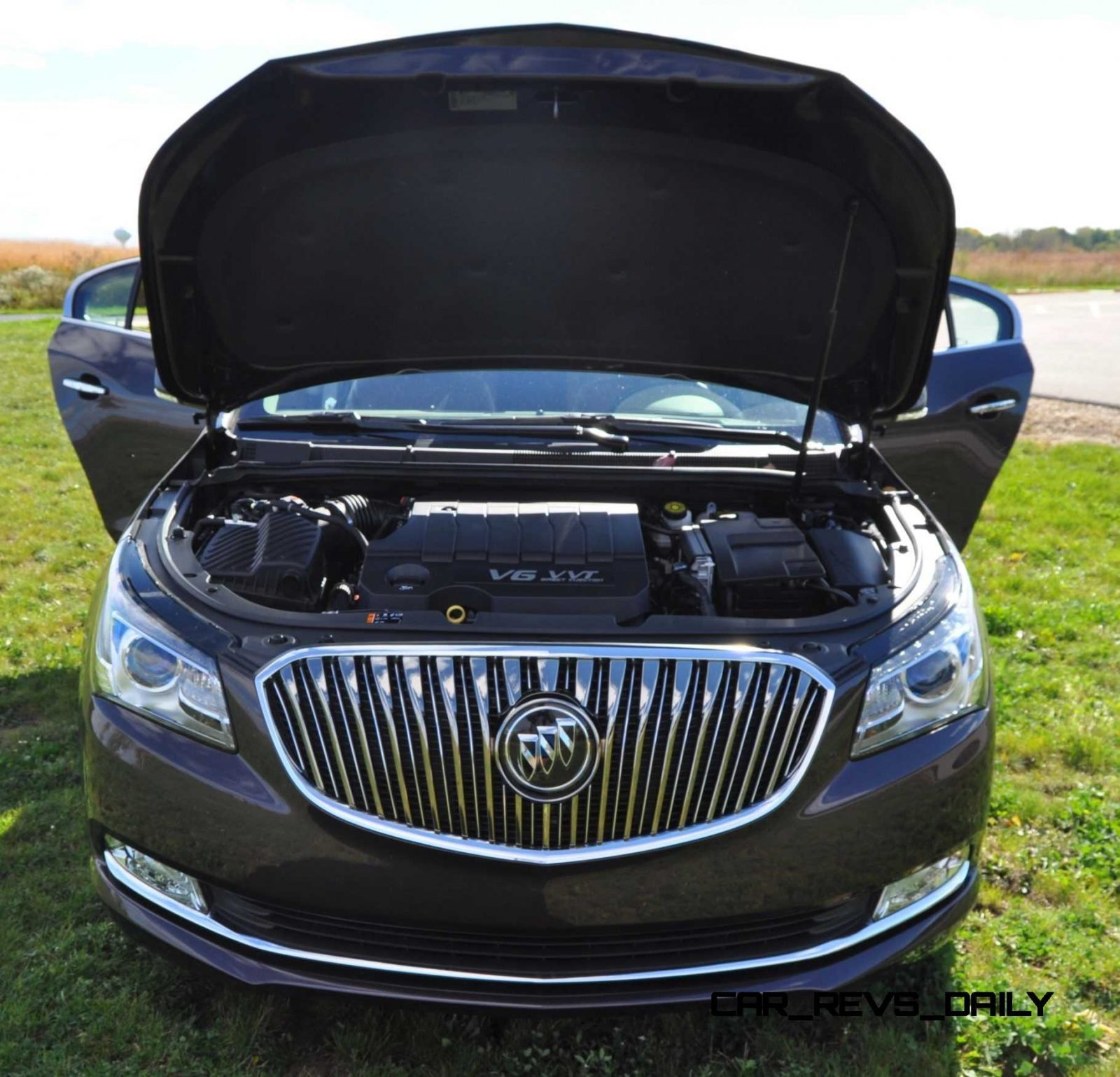 Driven Car Review - 2014 Buick LaCrosse Is Huge, Smooth and Silent25
