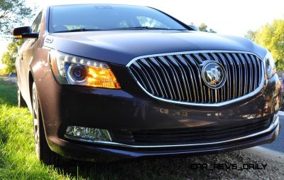 Driven Car Review - 2014 Buick LaCrosse Is Huge, Smooth and Silent36