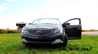 Driven Car Review - 2014 Buick LaCrosse Is Huge, Smooth and Silent6