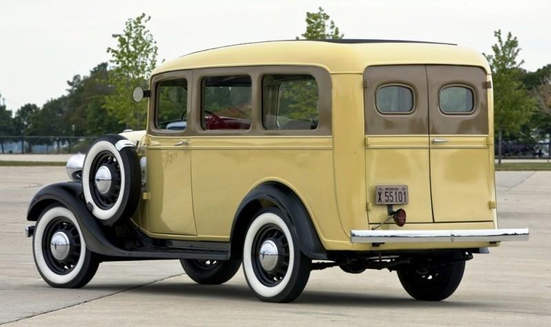 1936 Chevrolet Suburban.