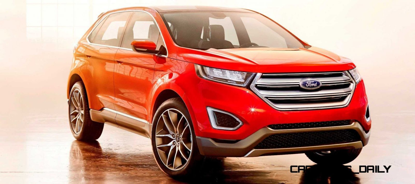Hottest La Debuts Ford Edge Concept Is A Thinly Disguised