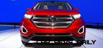 Hottest LA Debuts: Ford Edge Concept Is A Thinly-Disguised Production Model