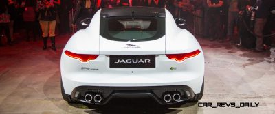 Jaguar Makes a WINNER! 2015 F-type Coupe Debuts Three Gorgeous Flavors, Pricing, Up to 550 HP!1