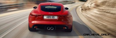 Jaguar Makes a WINNER!  2015 F-type Coupe Debuts Three Gorgeous Flavors, Pricing, Up to 550 HP!13