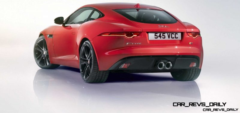 Jaguar Makes a WINNER!  2015 F-type Coupe Debuts Three Gorgeous Flavors, Pricing, Up to 550 HP!17