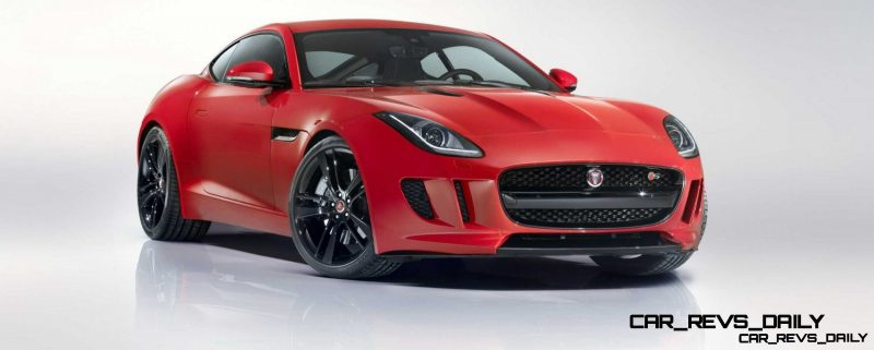 Jaguar Makes a WINNER!  2015 F-type Coupe Debuts Three Gorgeous Flavors, Pricing, Up to 550 HP!19
