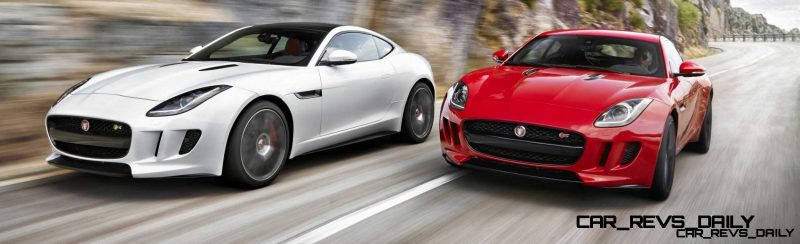Jaguar Makes a WINNER!  2015 F-type Coupe Debuts Three Gorgeous Flavors, Pricing, Up to 550 HP!6