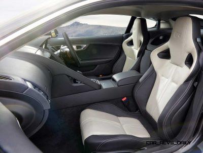 Jaguar Makes a WINNER! 2015 F-type Coupe INTERIOR1