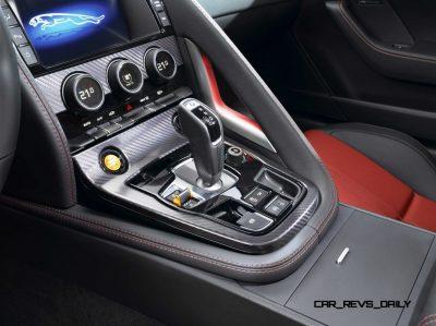 Jaguar Makes a WINNER! 2015 F-type Coupe INTERIOR11