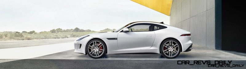 Jaguar Makes a WINNER!  2015 F-type R Coupe Debut1