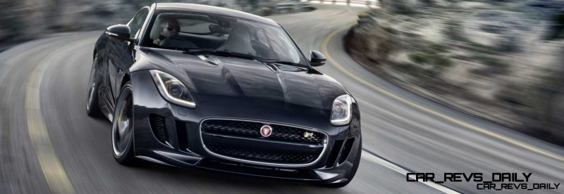 Jaguar Makes a WINNER!  2015 F-type R Coupe Debut14