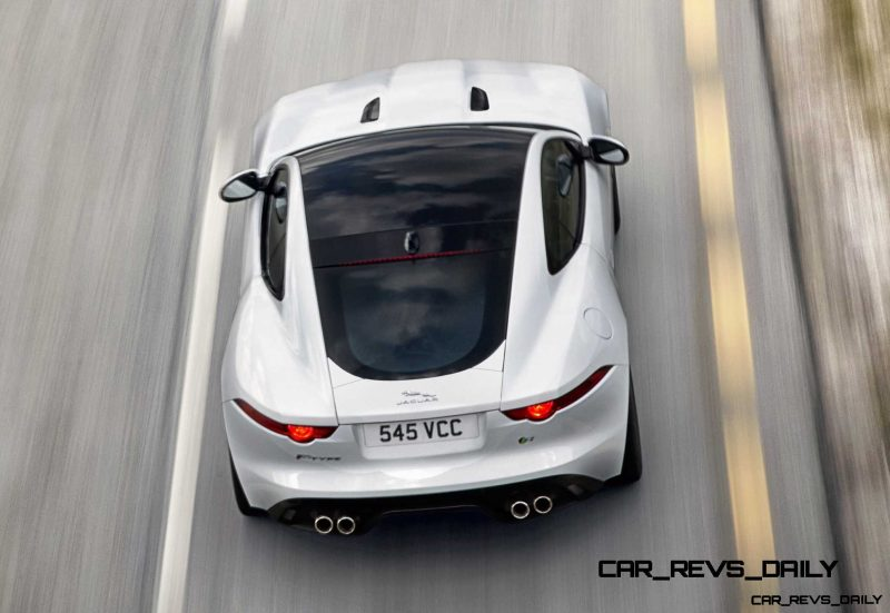 Jaguar Makes a WINNER!  2015 F-type R Coupe Debut16