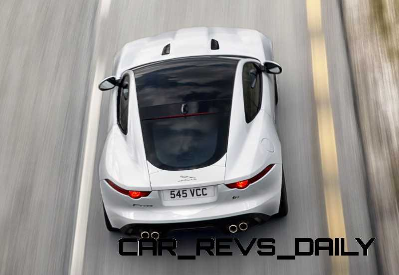 Jaguar Makes a WINNER!  2015 F-type R Coupe Debut16