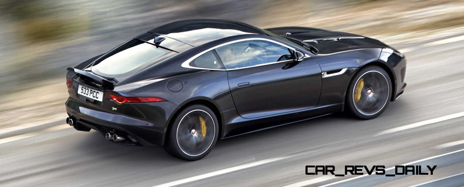 Jaguar Makes a WINNER!  2015 F-type R Coupe Debut17