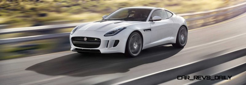 Jaguar Makes a WINNER!  2015 F-type R Coupe Debut19