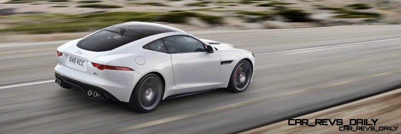Jaguar Makes a WINNER!  2015 F-type R Coupe Debut22