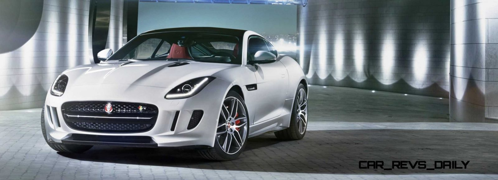 Jaguar Makes a WINNER!  2015 F-type R Coupe Debut27