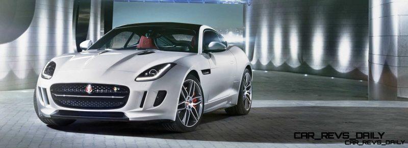 Jaguar Makes a WINNER!  2015 F-type R Coupe Debut27