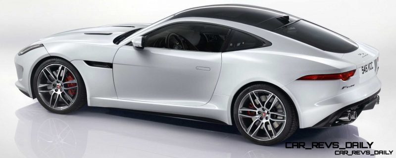 Jaguar Makes a WINNER!  2015 F-type R Coupe Debut35