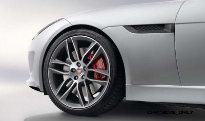 Jaguar Makes a WINNER! 2015 F-type R Coupe Debut36