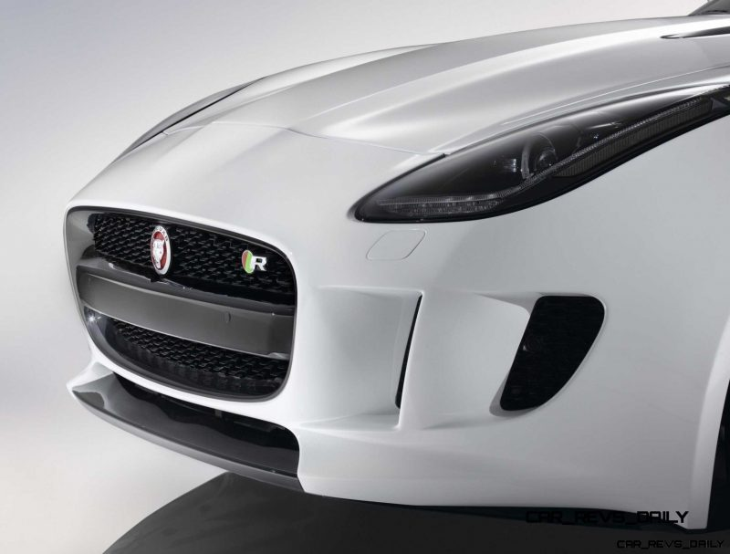 Jaguar Makes a WINNER!  2015 F-type R Coupe Debut37
