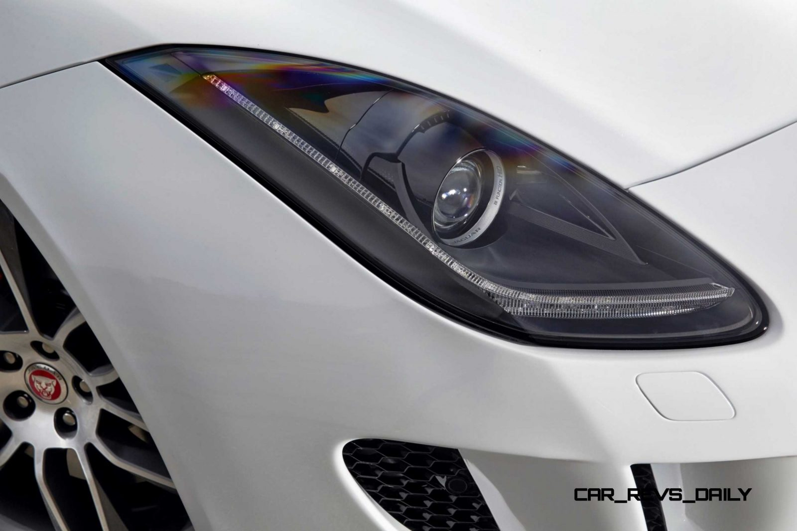 Jaguar Makes a WINNER!  2015 F-type R Coupe Debut40