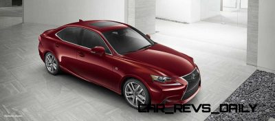 Lexus-IS-F-Sport-Exterior-MatadorRedMica-18-inchSplit-Five-SpokeAlloy