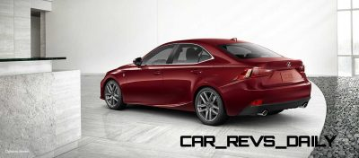 Lexus-IS-F-Sport-Exterior-MatadorRedMica-18-inchSplit-Five-SpokeAlloy2