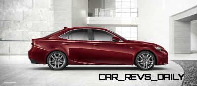 Lexus-IS-F-Sport-Exterior-MatadorRedMica-18-inchSplit-Five-SpokeAlloy4