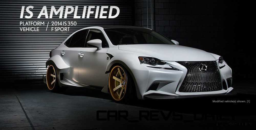 Lexus Rocks SEMA - Wild IS350 Widebodies Showcase1