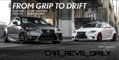 Lexus Rocks SEMA - Wild IS350 Widebodies Showcase12