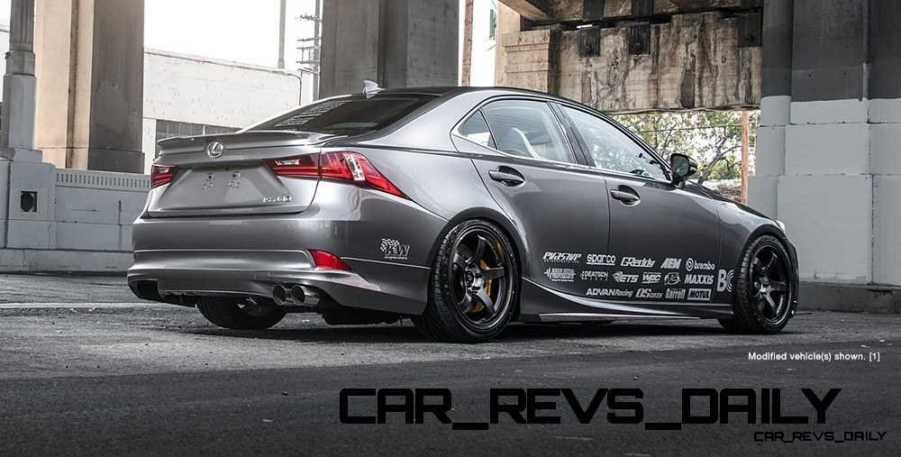 Lexus Rocks SEMA - Wild IS350 Widebodies Showcase15