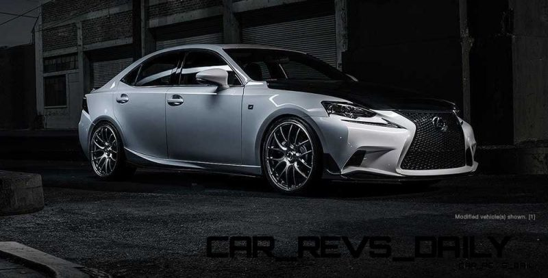 Lexus Rocks SEMA - Wild IS350 Widebodies Showcase20