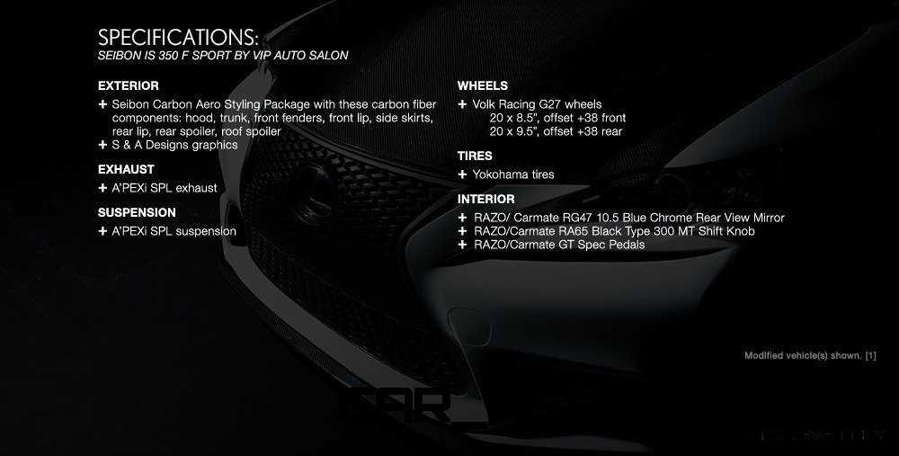 Lexus Rocks SEMA - Wild IS350 Widebodies Showcase21