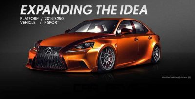 Lexus Rocks SEMA - Wild IS350 Widebodies Showcase22
