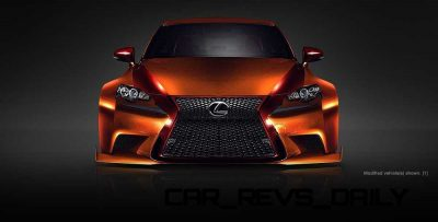 Lexus Rocks SEMA - Wild IS350 Widebodies Showcase23