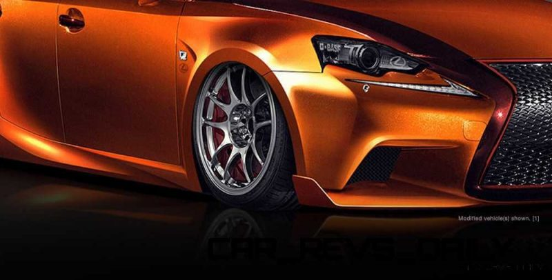 Lexus Rocks SEMA - Wild IS350 Widebodies Showcase24