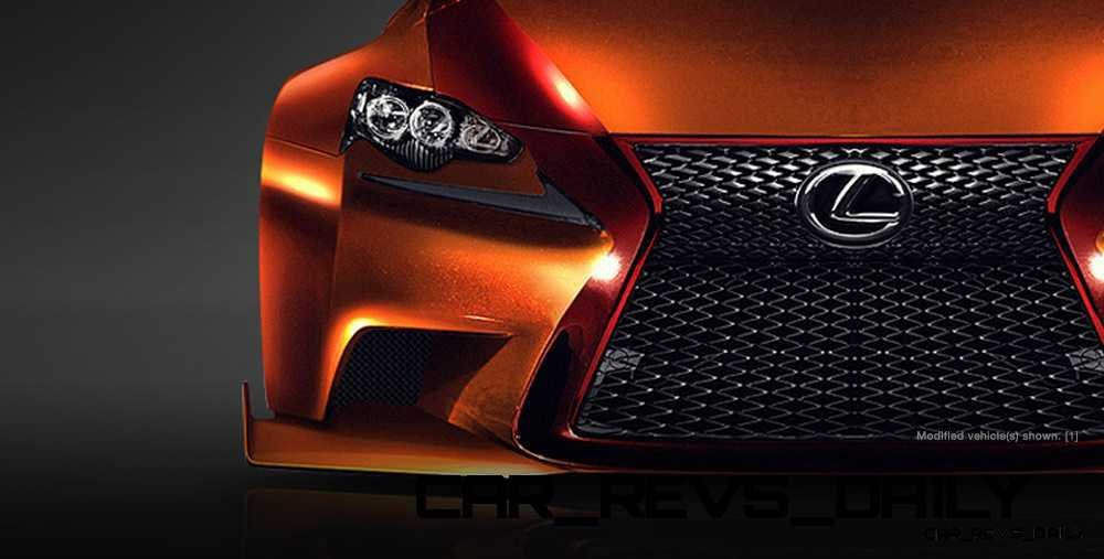 Lexus Rocks SEMA - Wild IS350 Widebodies Showcase25