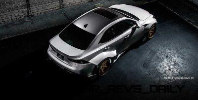 Lexus Rocks SEMA - Wild IS350 Widebodies Showcase3