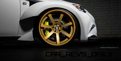 Lexus Rocks SEMA - Wild IS350 Widebodies Showcase4