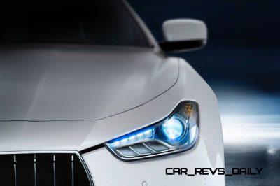 Maserati-Ghibli-dettaglio-Faro-frontale