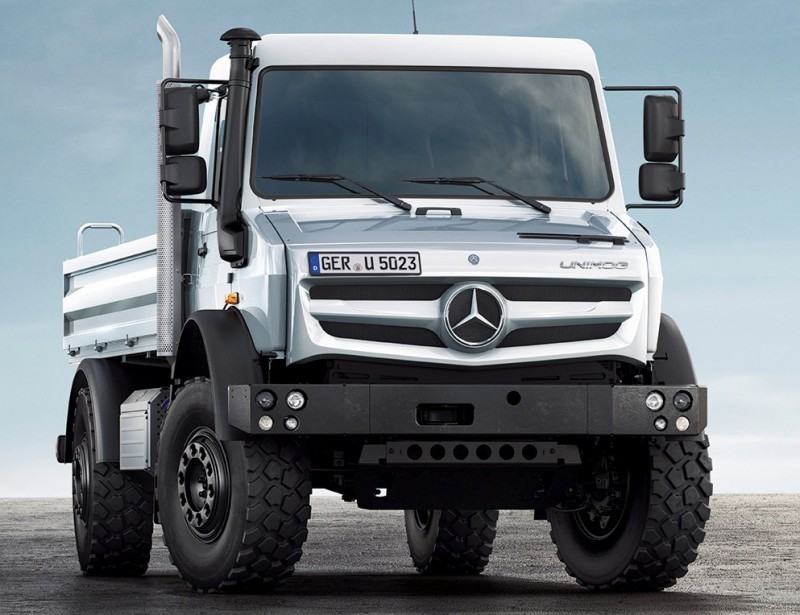 New Unimog U5023 - Review CarRevsDaily.com 16