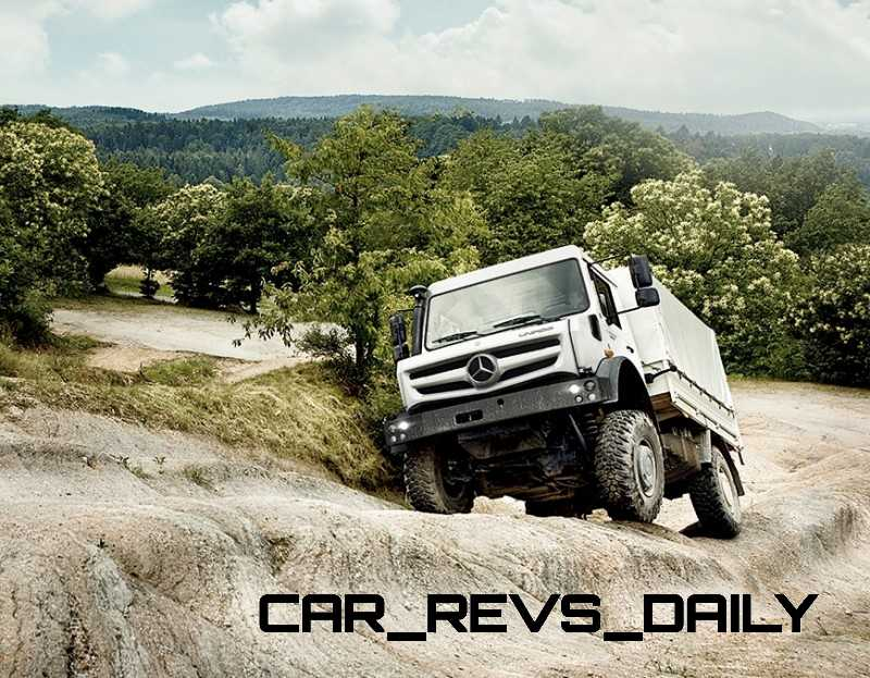 New Unimog U5023 - Review CarRevsDaily.com 33
