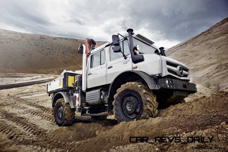New Unimog U5023 - Review CarRevsDaily.com 34